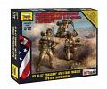 """Набор миниатюр """"Hot War. Американский противотанковый ракетный комплекс М-47 Дракон с расчетом"""""""