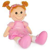 """Мягкая игрушка """"Кукла Майя в платье с блестками"""""""
