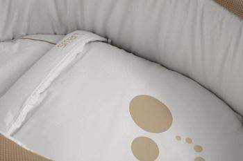 Сменное белье для колыбели Micuna Smart песочный (TX-1482)