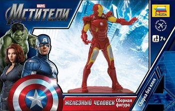 """Сборная модель """"Marvel. Мстители. Железный человек"""" (Звезда 2033)"""