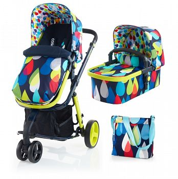 Коляска 3 в 1 Cosatto Giggle Pitter Patter (CT2978 | CT2979)