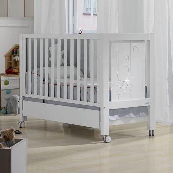 Кровать 140x70 Micuna Neus Luxe Relax Big белый