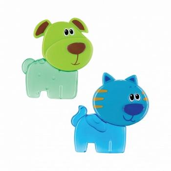 "Игрушка-прорезыватель с гелем ""Chilly Pets"" (Happy Baby 330063)"
