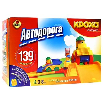 "Конструктор ""Автодорога"" (Кроха 024)"