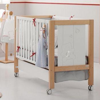 Кровать 140x70 Micuna Neus Luxe Relax Big белый/натуральный