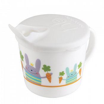 """Тренировочная чашка с крышкой """"Traning Cup"""" (Happy Baby 15010)"""