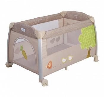 Манеж-кровать Happy Baby Thomas Cream (0404)
