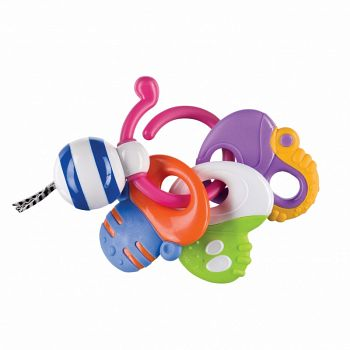 """Погремушка-прорезыватель """"Keys of Fun"""" (Happy Baby 330058)"""