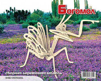 """Сборная деревянная модель """"Богомол"""" (МДИ Е019)"""