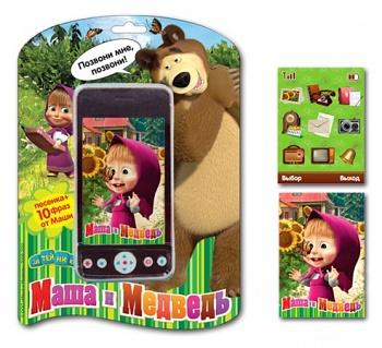 """Мобильный телефон """"Маша и Медведь"""" (Затейники GT5740)"""