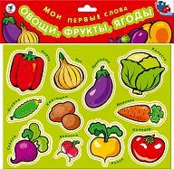 """Игра на магнитах """"Мои первые слова. Овощи, фрукты, ягоды"""""""
