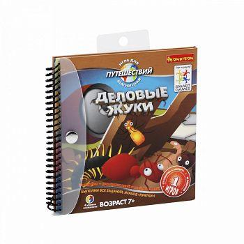 """Магнитная игра для путешествий """"SmartGames. Деловые жуки"""" (Bondibon ВВ0885)"""