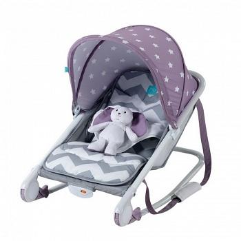 Шезлонг Happy Baby Bouncer Violet (2701)
