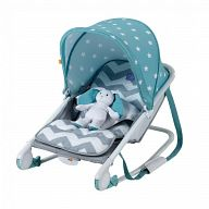 Шезлонг Happy Baby Bouncer Blue