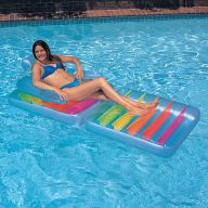 Надувной матрас-кресло для загара