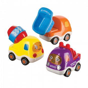 "Набор грузовичков ""Cars 4 Fun"" (Happy Baby 330066)"