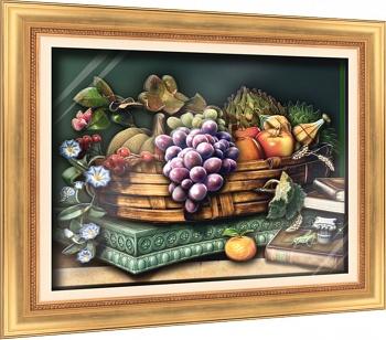 "Объемная картина ""Галерея натюрмортов. Изабелла"" (Vizzle 0189)"