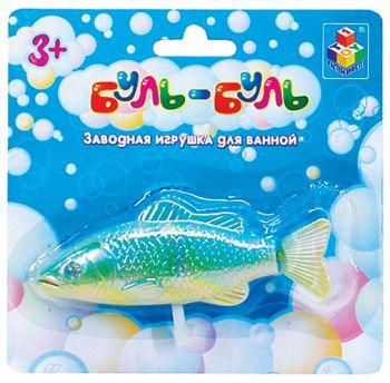 """Заводная игрушка для ванны """"Буль-Буль. Рыба"""" (1 TOY Т51344)"""