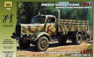 """Сборная модель """"Немецкий тяжелый грузовик L 4500A времен Второй Мировой Войны"""""""