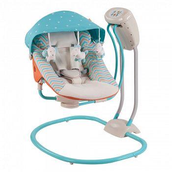 Кресло-качели Happy Baby Relaxer Blue (2770)