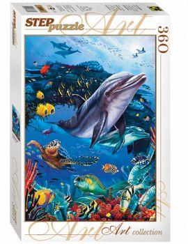 """Пазл """"Art Collection. Подводный мир"""" (Степ Пазл 73061)"""