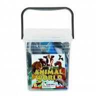 """Набор игрушек для ванны """"Animal World"""" (34 элемента)"""