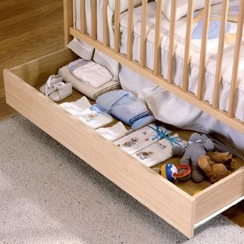Ящик для кровати 120x60 Micuna Luxe натуральный (CP-949)