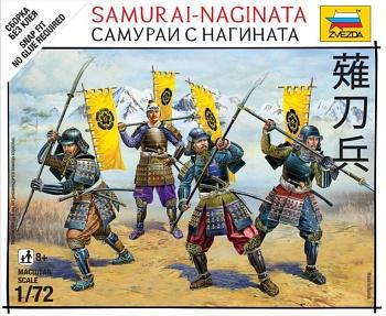 """Набор миниатюр """"Битвы самураев. Самураи с нагината"""" (Звезда 6403)"""