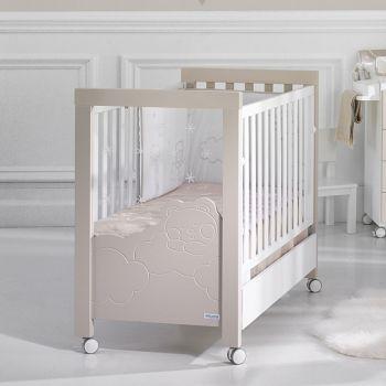 Кровать 120x60 Micuna Dolce Luce Relax белый/бежевый