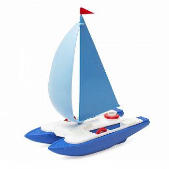 """Конструктор-игрушка для игр с водой """"Катамаран"""" (Росигрушка 9114)"""