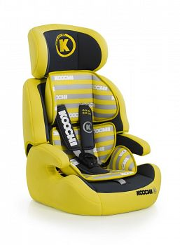 Автокресло Koochi Motohero Primary Yellow (CT2874)