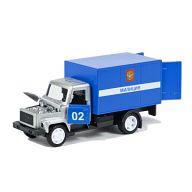 """Машина металлическая инерционная """"ГАЗ 3307. Полиция"""""""