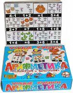 """Умные кубики """"Арифметика. Сложение и вычитание"""" (12 элементов)"""