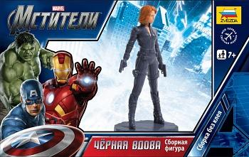 """Сборная модель """"Marvel. Мстители. Чёрная вдова"""" (Звезда 2036)"""
