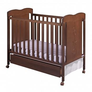 Кровать 120x60 Micuna Rosie шоколад