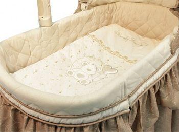 Постельное белье для электронной колыбели Funnababy Lovely Bear Cream