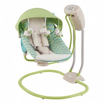 Кресло-качели Happy Baby Relaxer Green (2770)