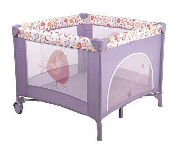 Манеж Happy Baby Alex Violet (2444)