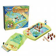 """Настольная игра-головоломка """"Переправа для малышей. Приключения в лагуне"""""""