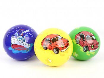 """Мяч ПВХ """"Машинка/Кораблик"""" (Затейники GT2402)"""