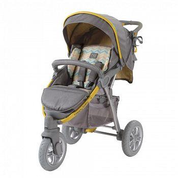 Прогулочная коляска Happy Baby Neon Sport Yellow (2557)