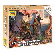 """Набор миниатюр """"Великая Отечественная. Британские разведчики 1939-1945"""""""