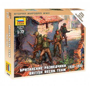 """Набор миниатюр """"Великая Отечественная. Британские разведчики 1939-1945"""" (Звезда 6226)"""