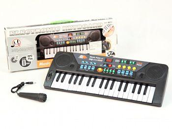 Пианино детское с микрофоном и MP3 (MQ-802USB)
