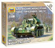 """Сборная модель """"Великая Отечественная. Британский крейсерский танк А13 Mk.II Cruser Mk.IV"""""""