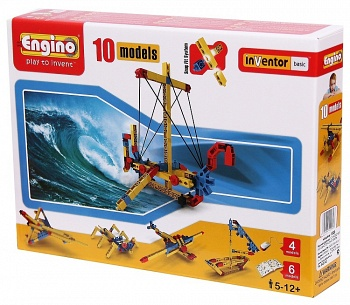 """Конструктор """"База. 10 моделей из одного комплекта"""" (Engino 1020)"""
