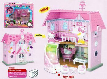 """Игровой набор """"Hello Kitty. Домик принцессы"""" (Затейники 290328)"""