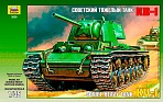 """Сборная модель """"Подарочный набор. Тяжелый советский танк КВ-1"""""""