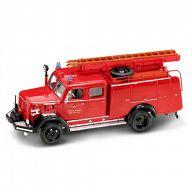 """Коллекционная модель автомобиля """"Пожарная машина. MAGIRUS-DEUTZ 150D 1964"""""""