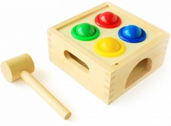 """Игровой набор из дерева """"Стучалка Шарики"""" (МДИ Д027)"""